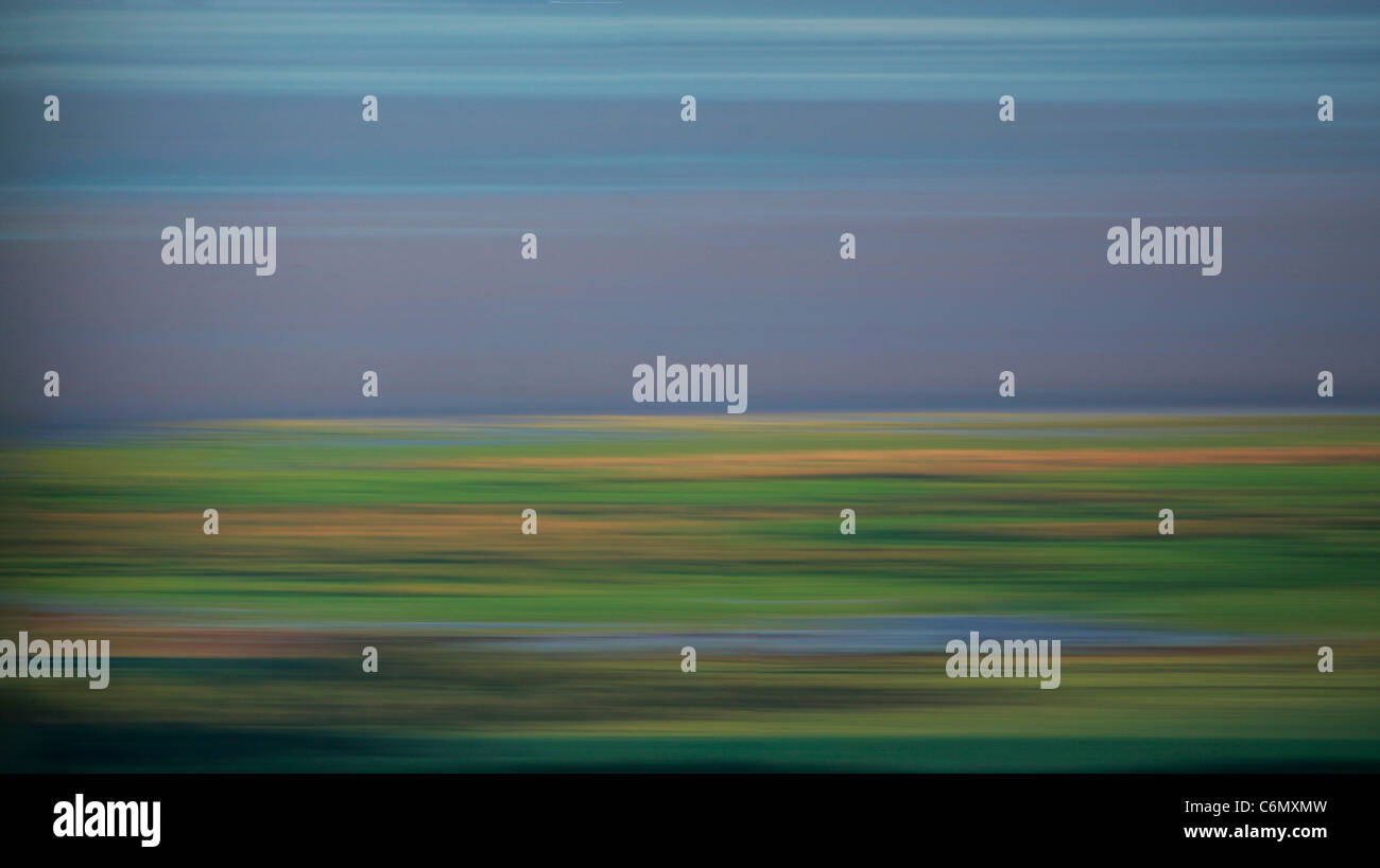 Lake Manyara abstract - Stock Image