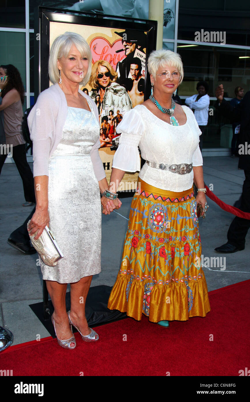 Helen Mirren Madam Susan Austin The Love Ranch La Premiere At The Arclight Theatre Hollywood California