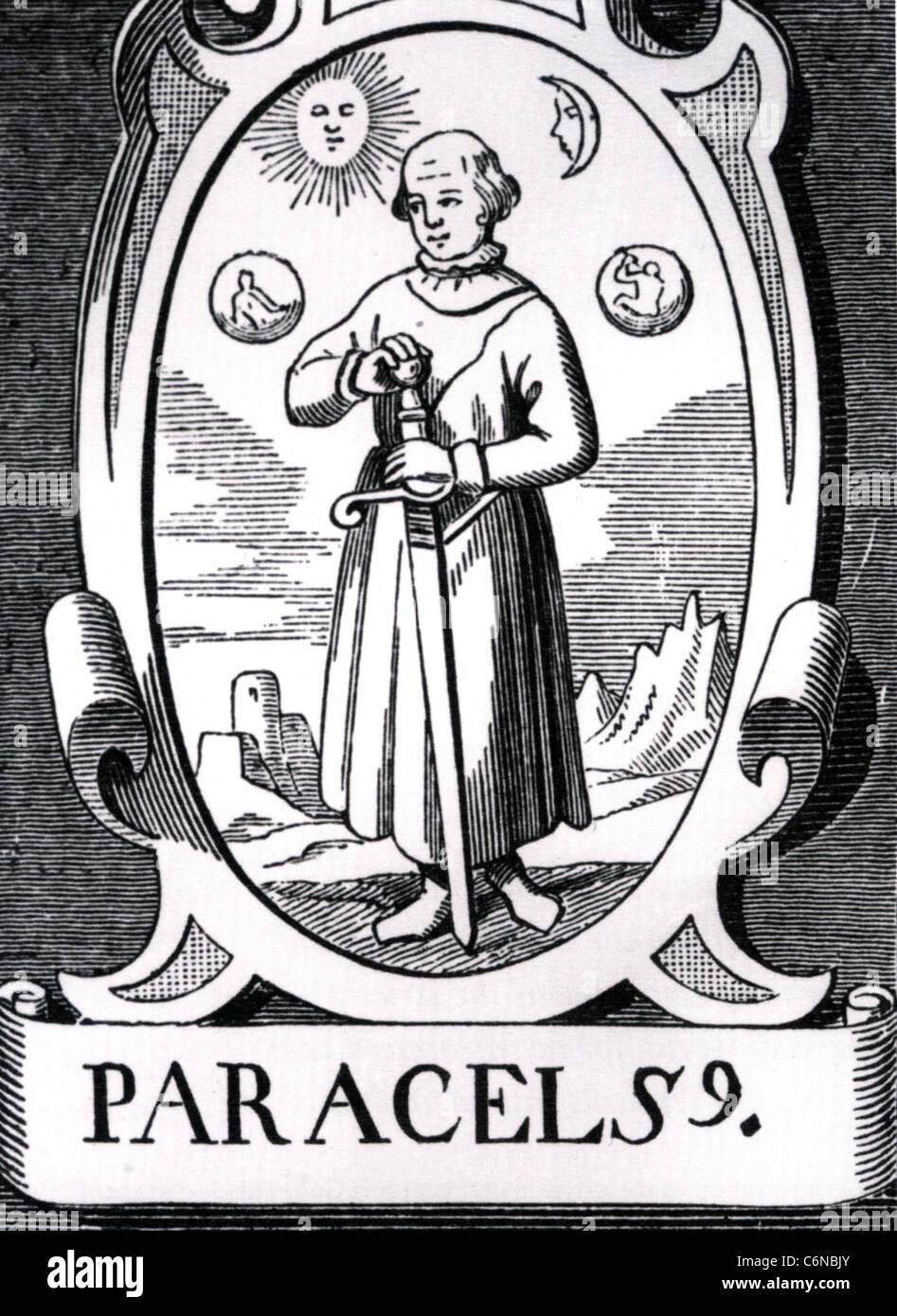 PARACELSUS (1493-1541) Swiss physician, alchemist and botanist - Stock Image
