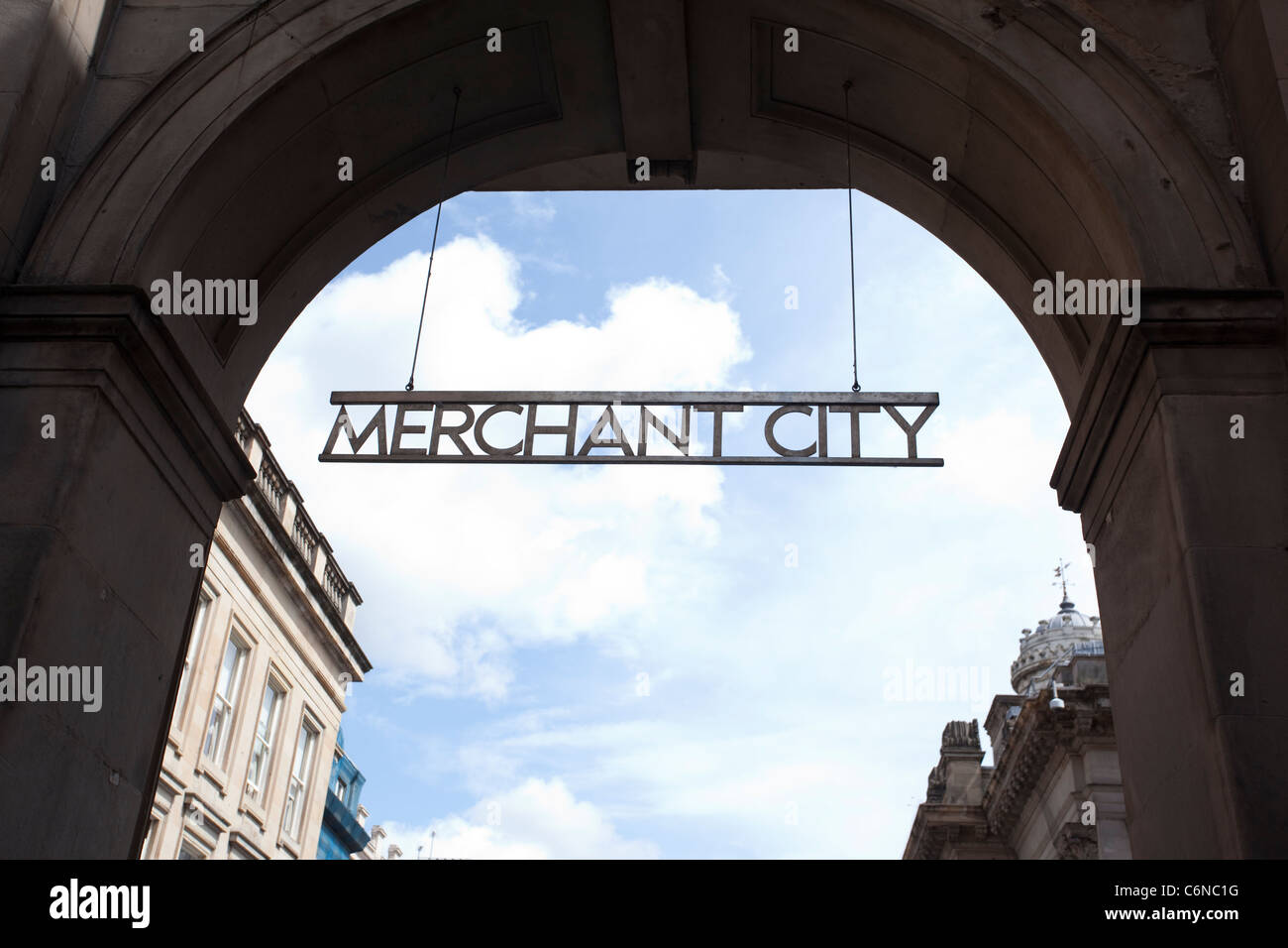 Merchant City Glasgow Scotland. Photo:Jeff Gilbert - Stock Image