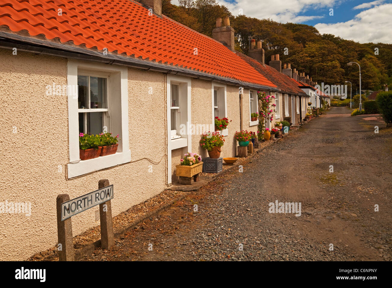 North Row, Charlestown - Stock Image