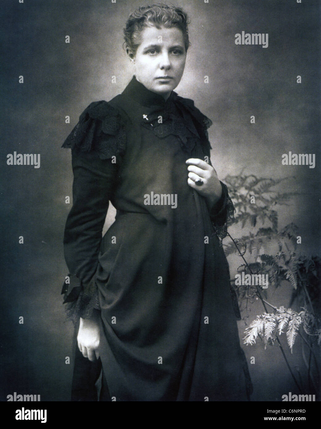 ANNIE BESANT (1847-1933) English women's rights activist - Stock Image