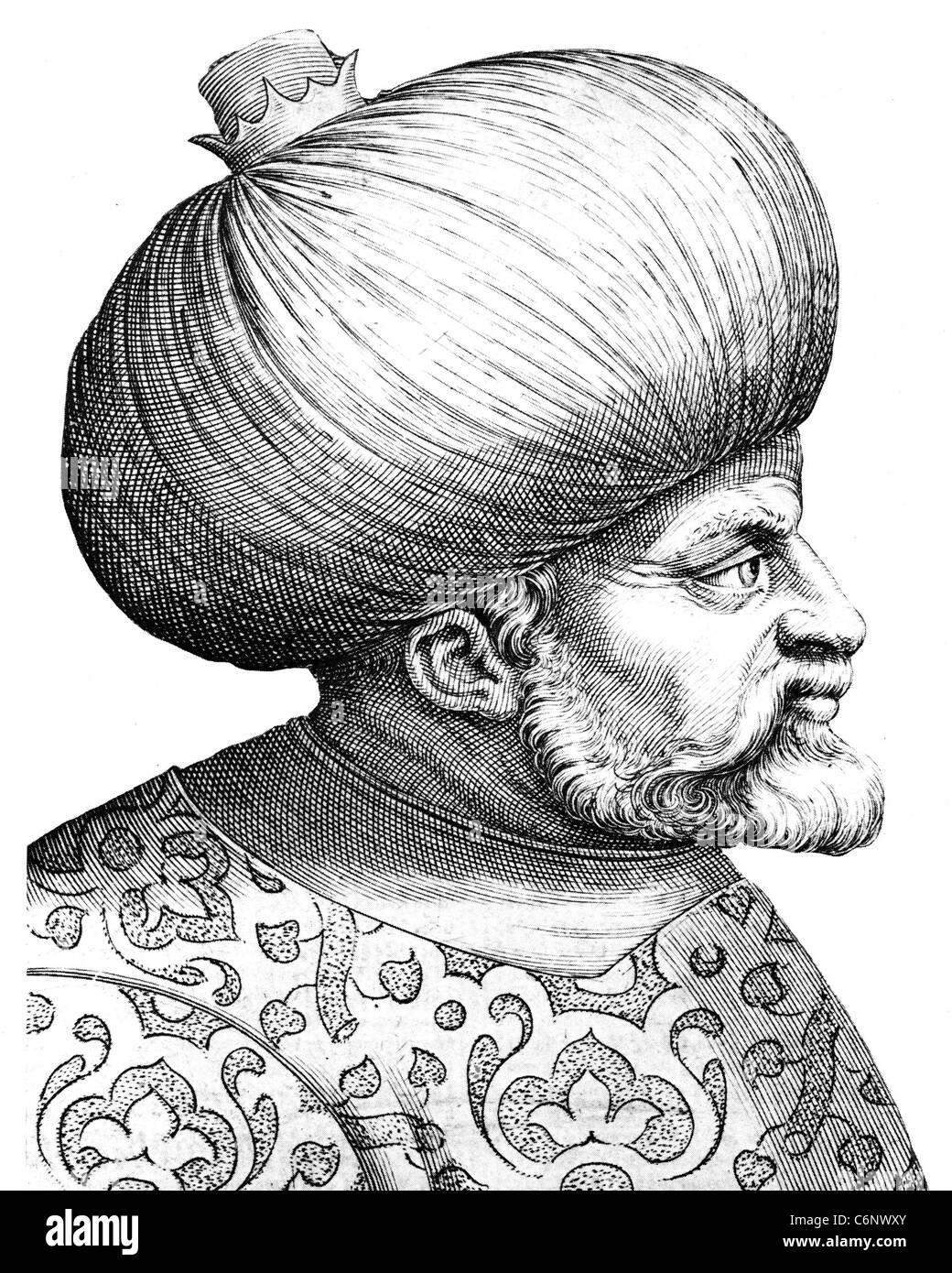 HAYREDDIN BARBAROSSA  (c 1478-1546) Ottoman admiral - Stock Image