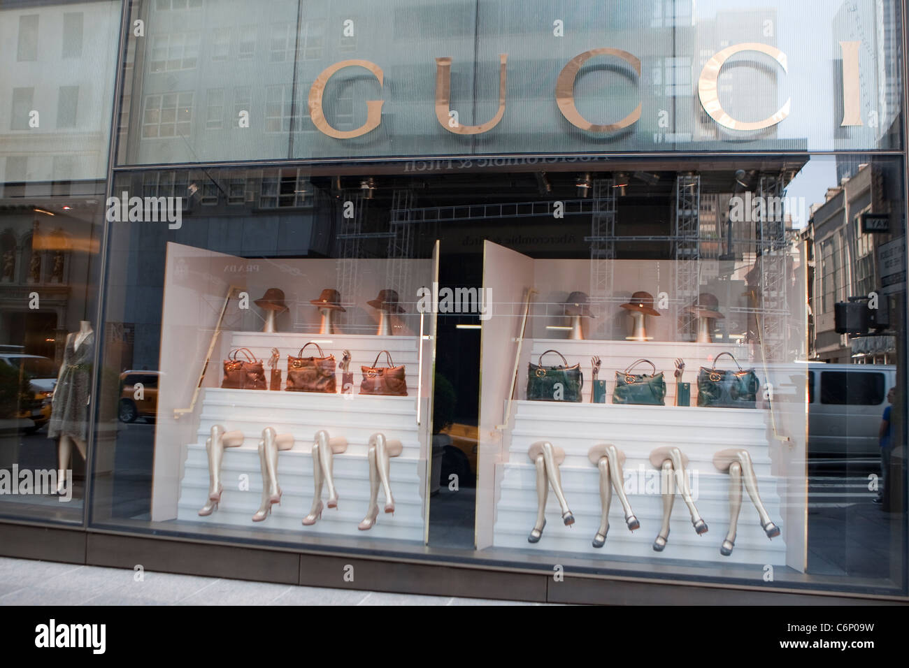 Fifth Avenue Gucci store is pictured in the New York City