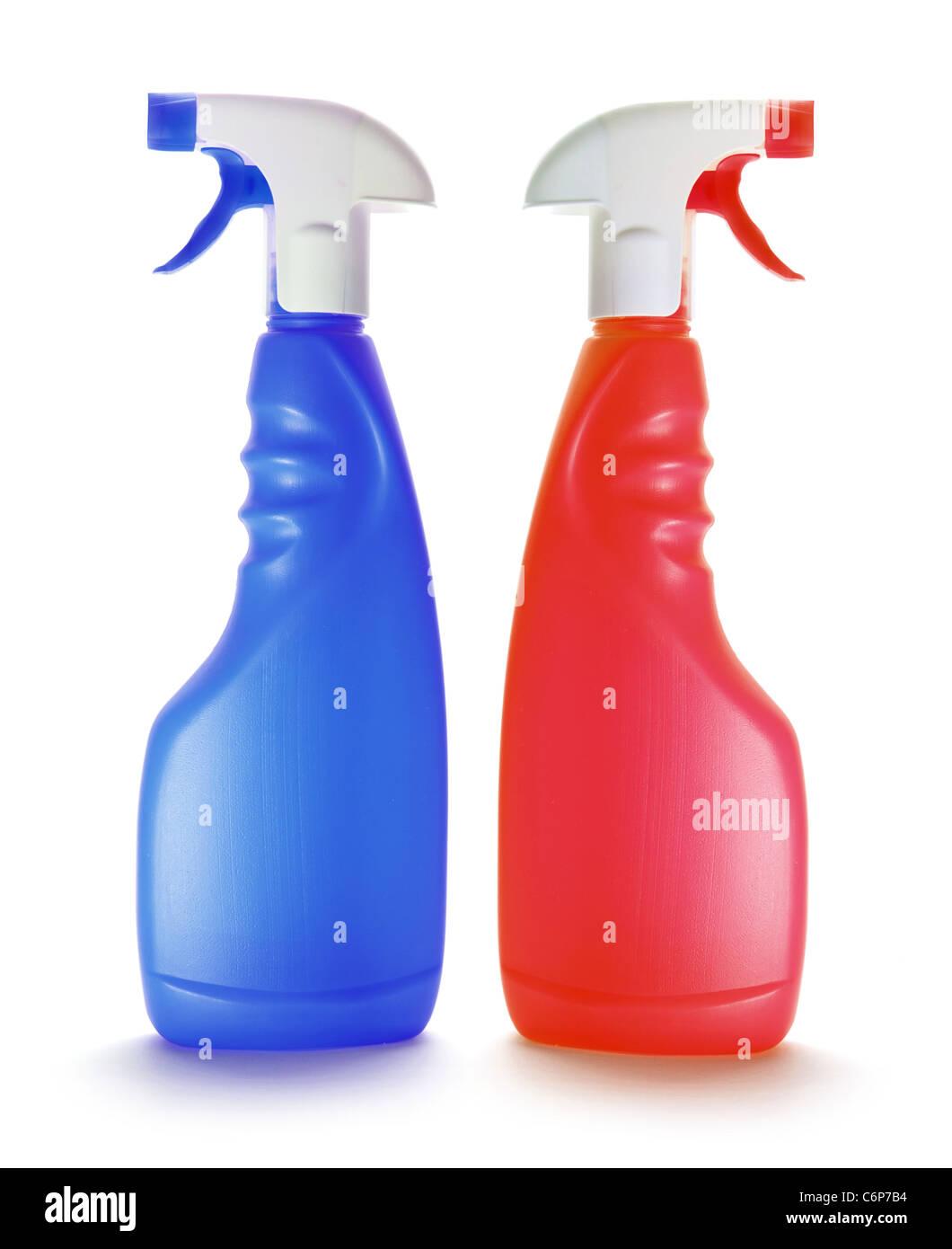 Spray Bottles - Stock Image