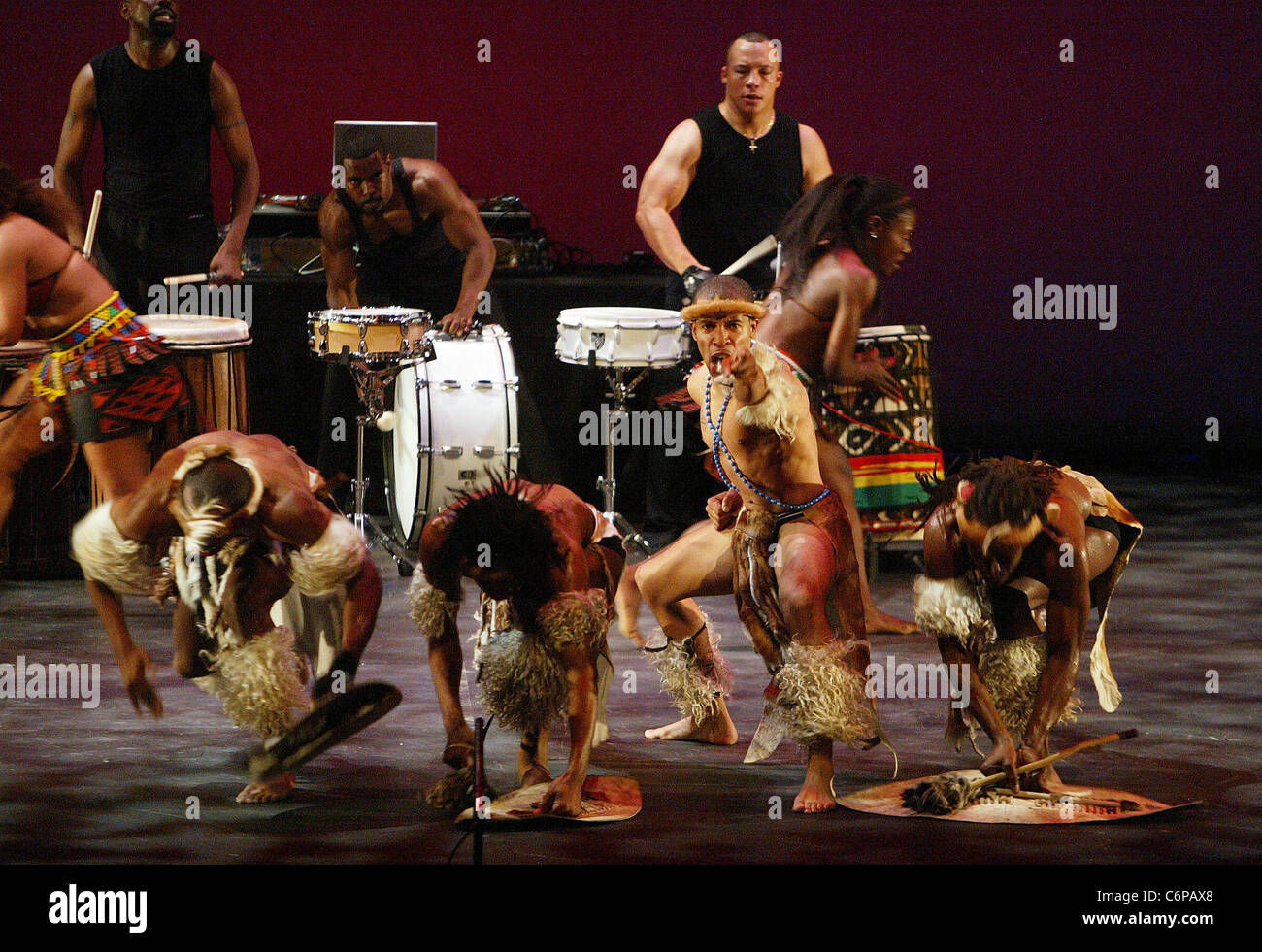 Step Afrika! hold their final performance night at the Landsburgh Theater as a thank you to supporters of their - Stock Image