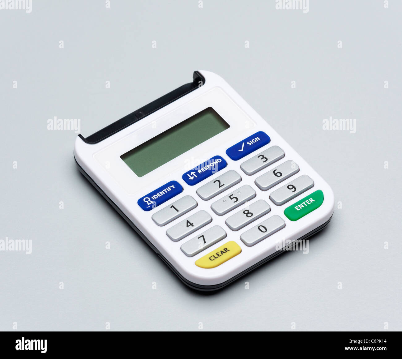 Lloyds bank security card reader stock photos lloyds bank security secure password code generator for online internet banking for lloyds tsb business accounts stock image reheart Images
