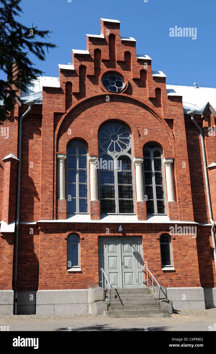 The church of Kristinestad (fin: Kristiinankaupunki) - Stock Image