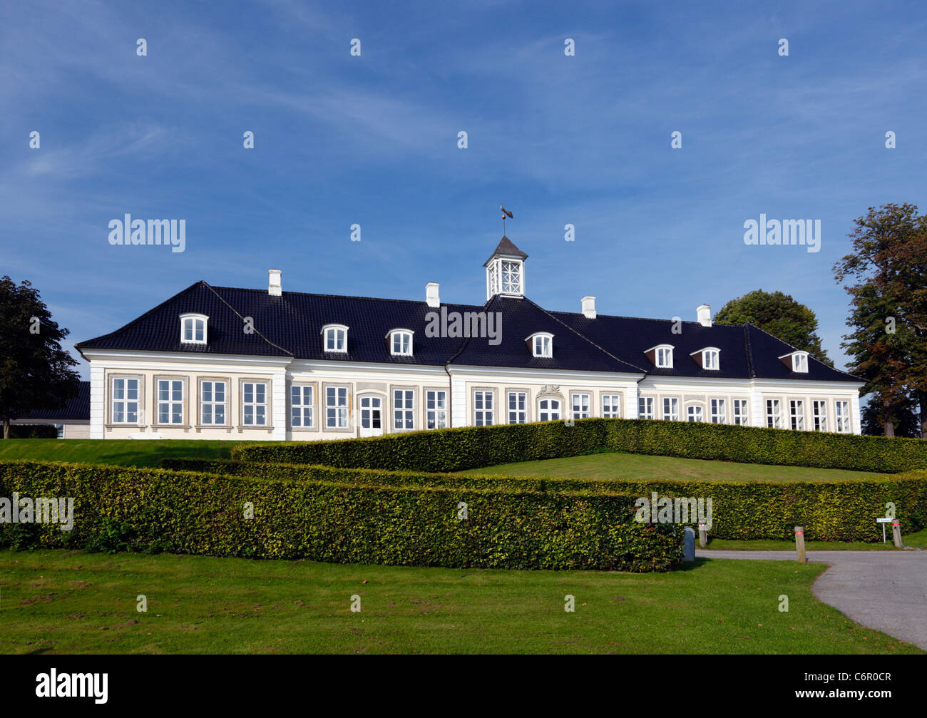 The Sophienberg Palace in Rungsted Kyst - the most beautiful conference center in North Zealand, Denmark. - Stock Image