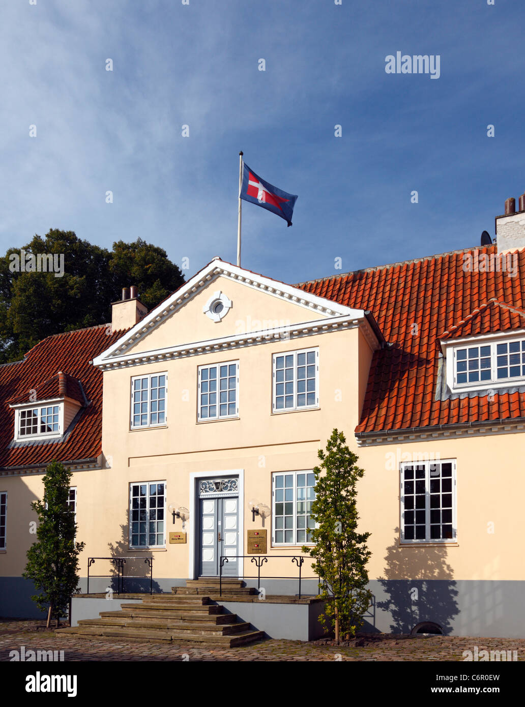 The domicile / headquarters of the Dannebrog Group, Stena Weco, and Nordana shipping - in Rungsted Kyst, Denmark - Stock Image