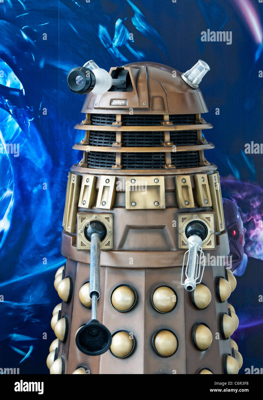 A Dalek (probably the most famous and iconic Doctor Who aliens) - Stock Image