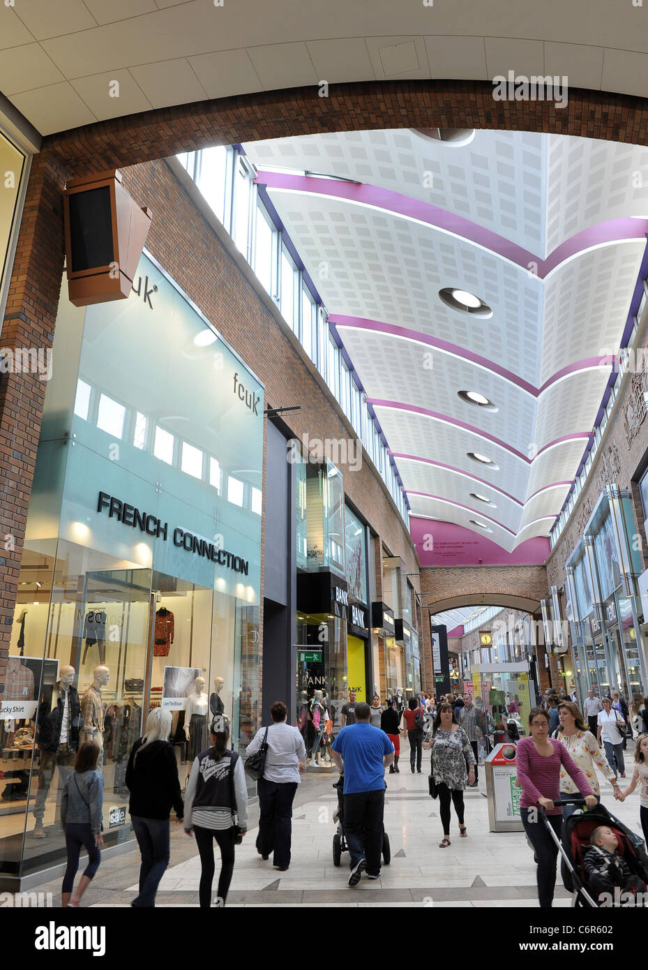 Solihull The Touchwood shopping centre in the West Midlands England Uk - Stock Image