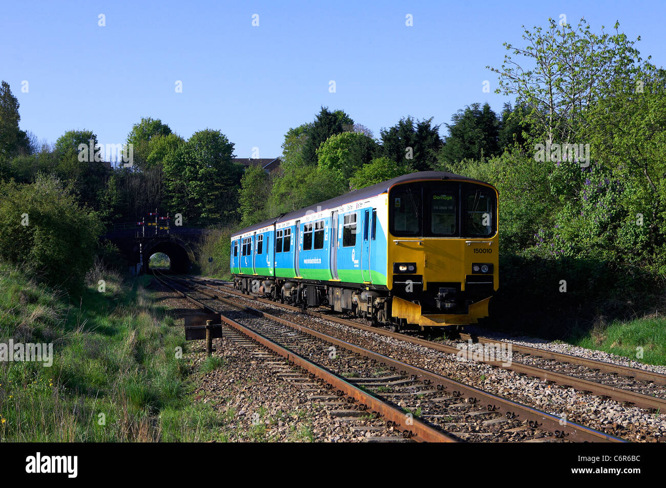 london midland local service - Stock Image