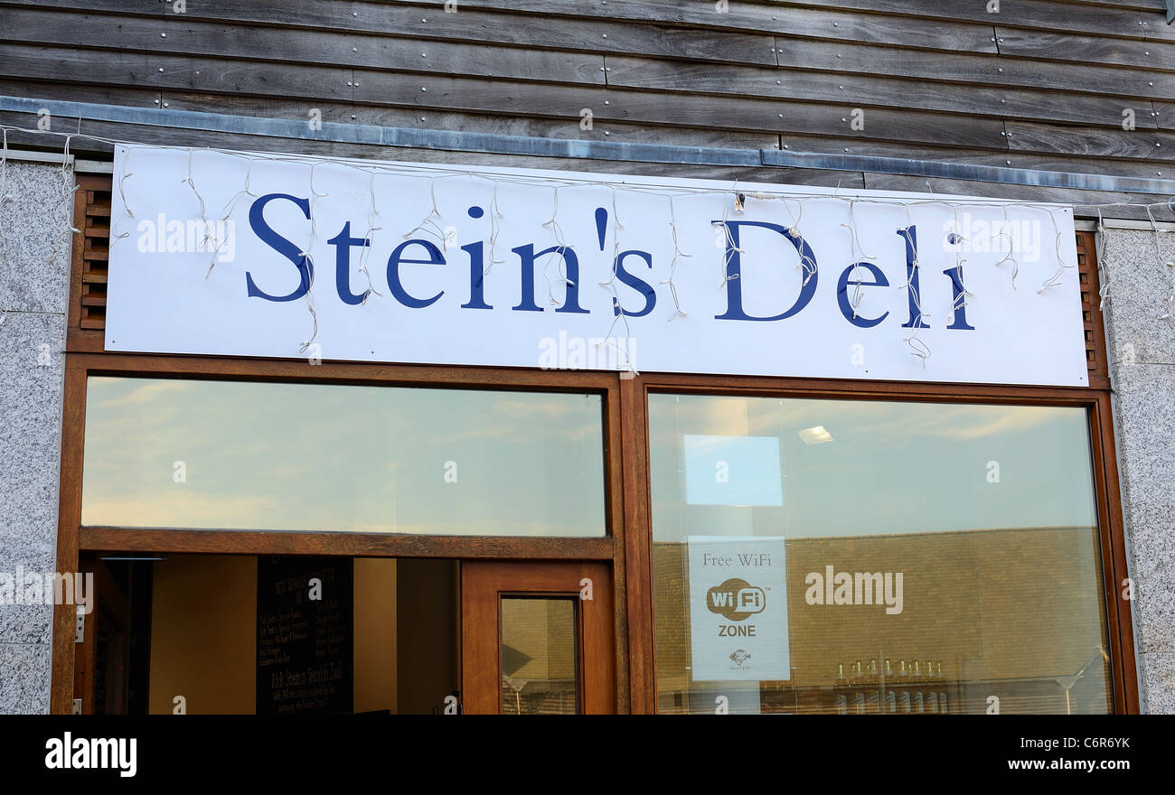 Rick Steins Deli in Falmouth, Cornwall, UK - Stock Image