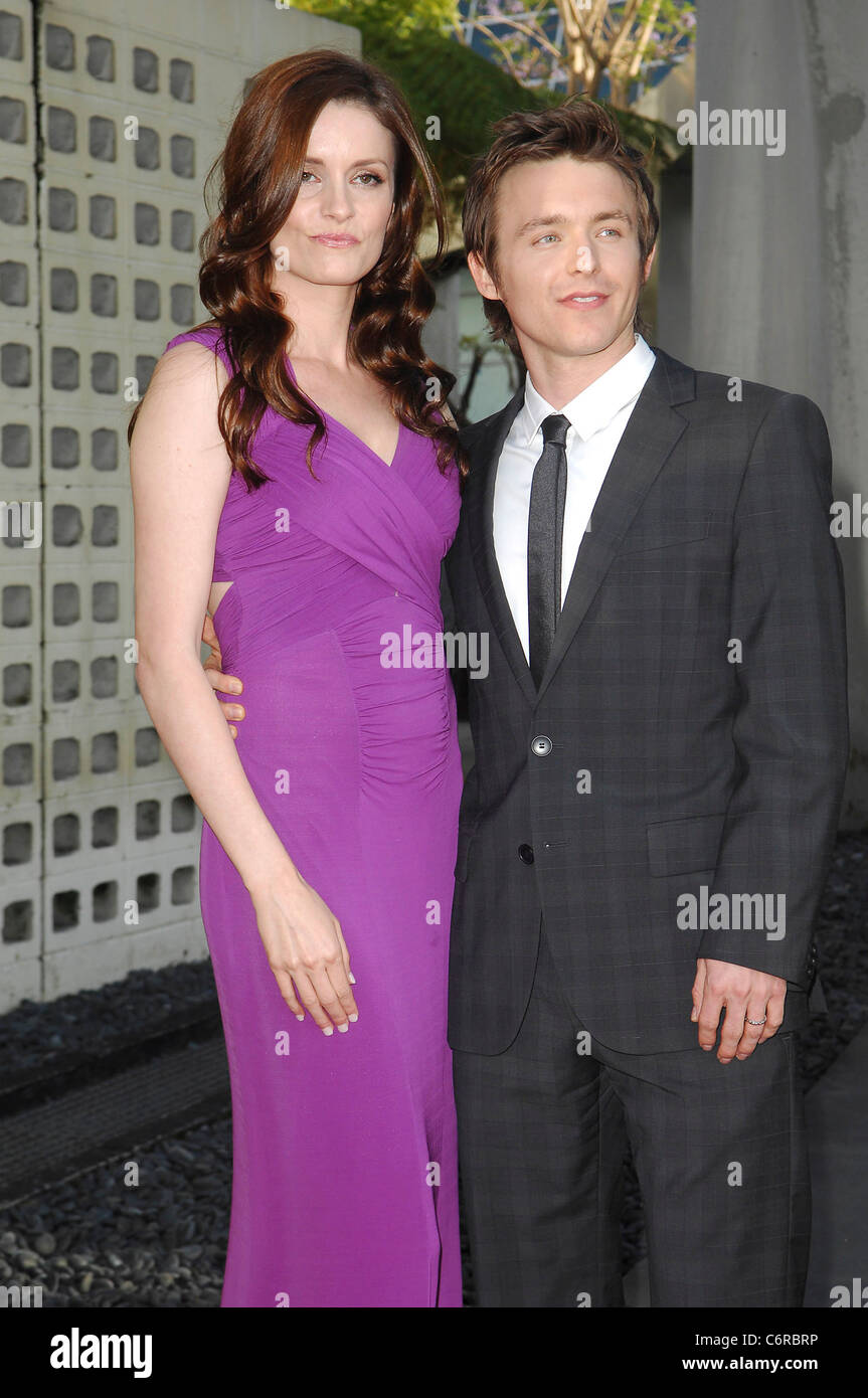 Marshall Allman and Jamie Anne Allman HBO's 'True Blood' Season 3 Premiere at the ArcLight Cinemas Cinerama - Stock Image