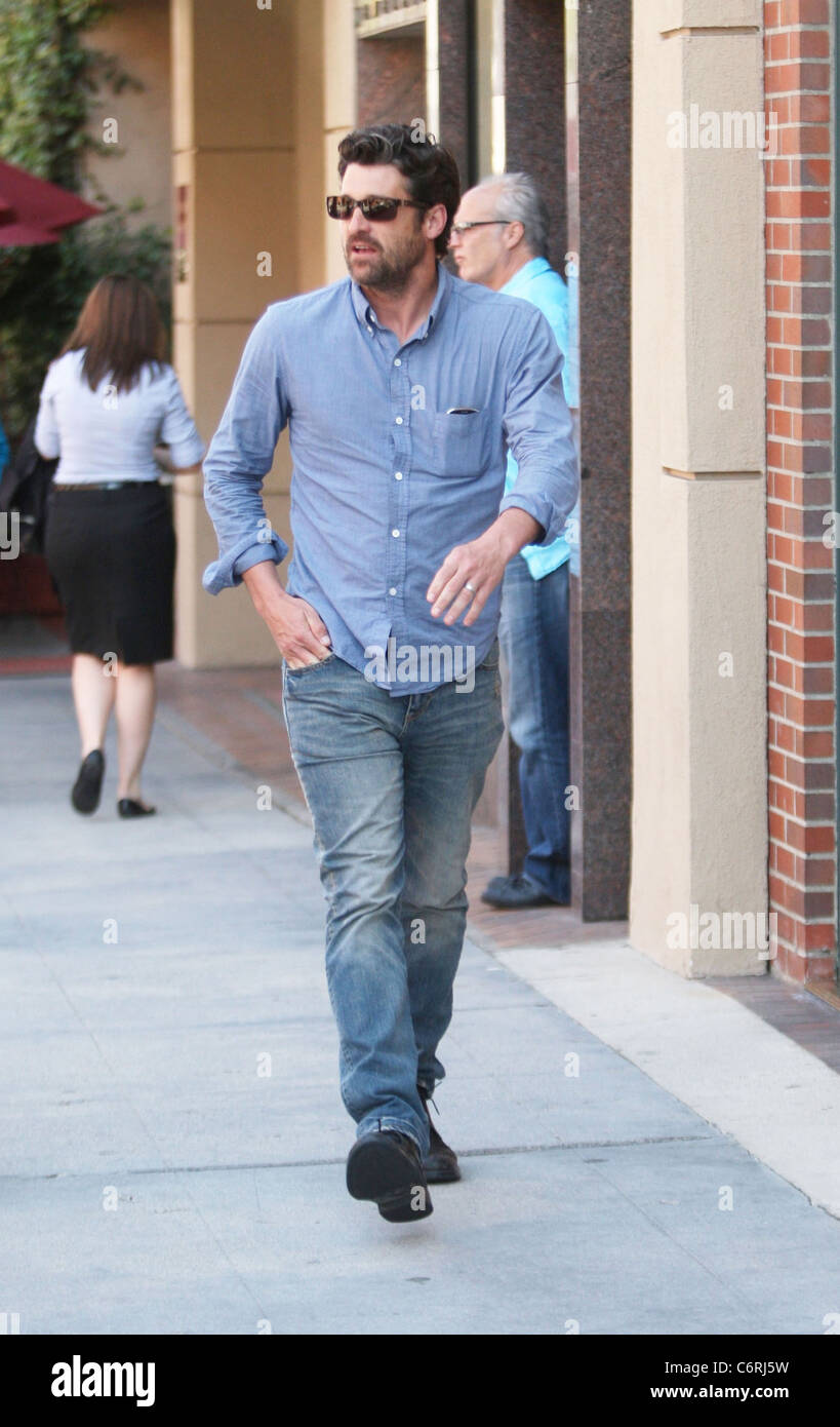 Patrick Dempsey Was Spotted Leaving A Medical Centre In Beverly