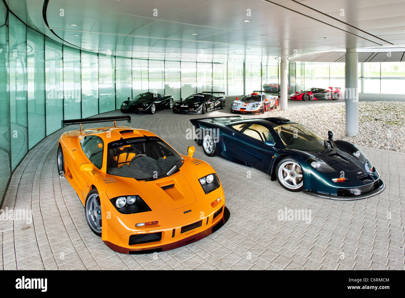 mclaren f1 celebrates the big 2-0 mclaren's f1 is 20 years old this