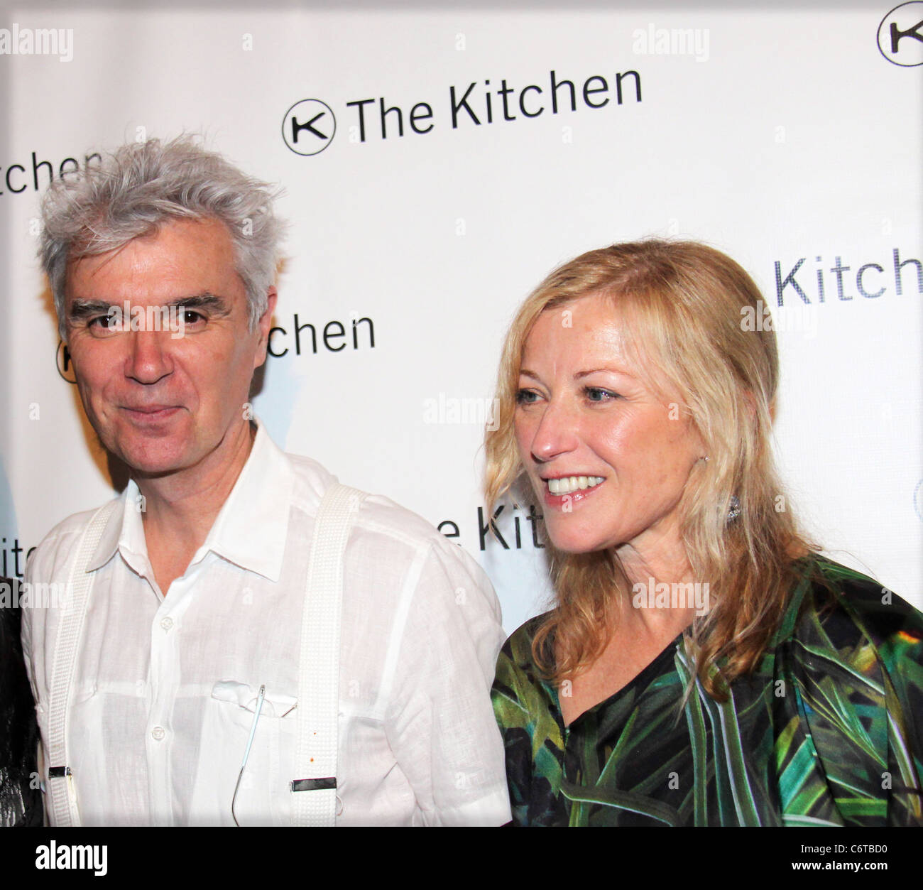 David Byrne and Cindy Sherman The Kitchen\'s Spring Gala Benefit held ...