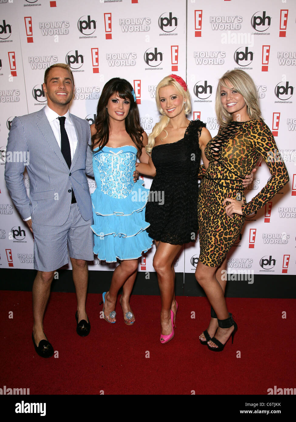 Angel From Holly's World josh strickland, laura croft, holly madison and angel