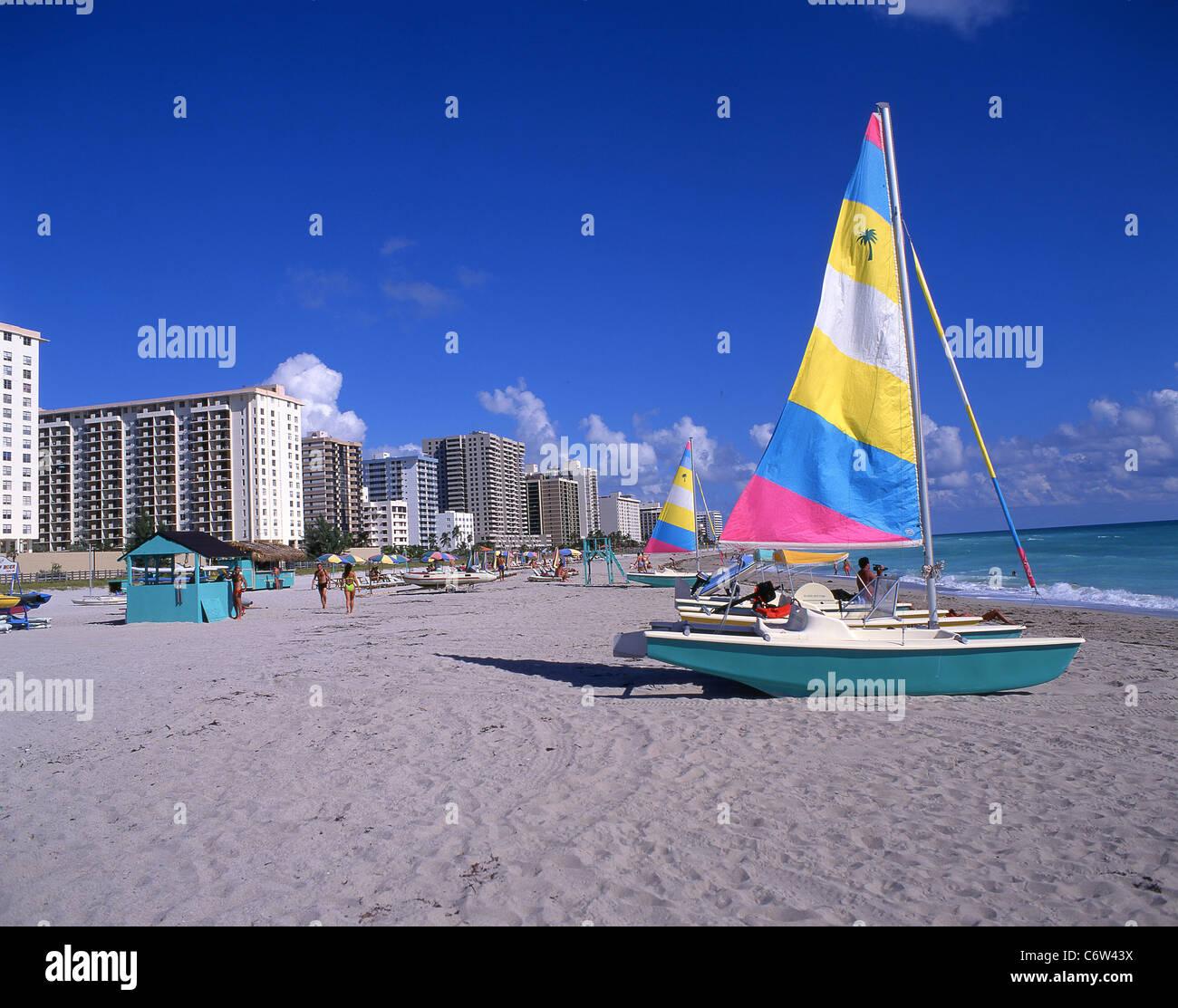 South Beach, Miami Beach, Florida, United States of America - Stock Image