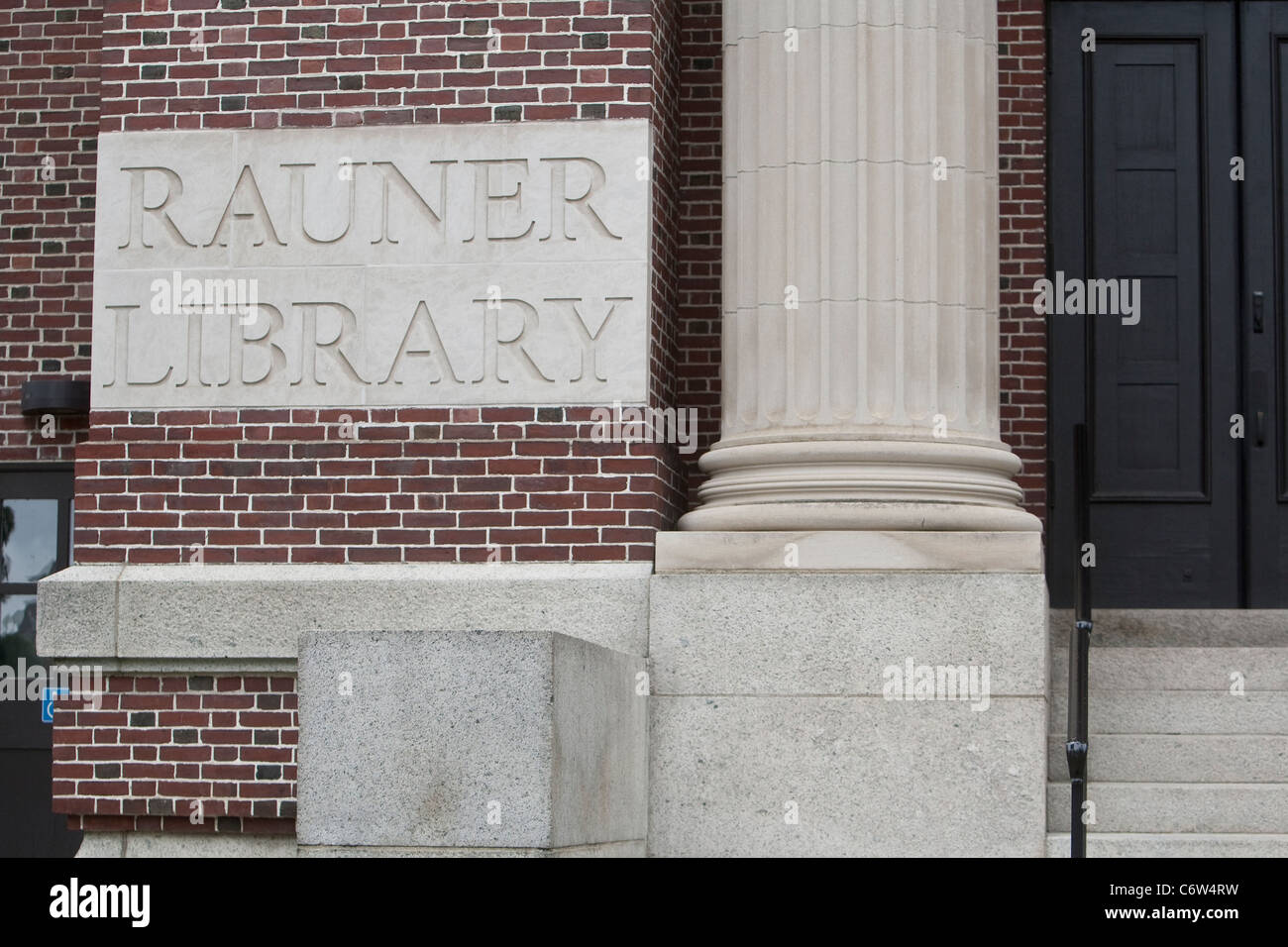 Dartmouth College's Rauner Library is pictured in Hanover, New Hampshire, Sunday August 7, 2011. Stock Photo