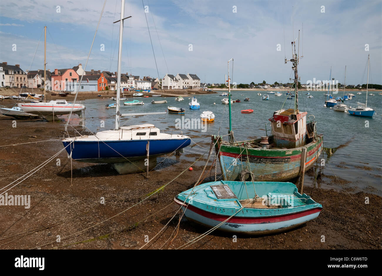 port louis, brittany, france Stock Photo