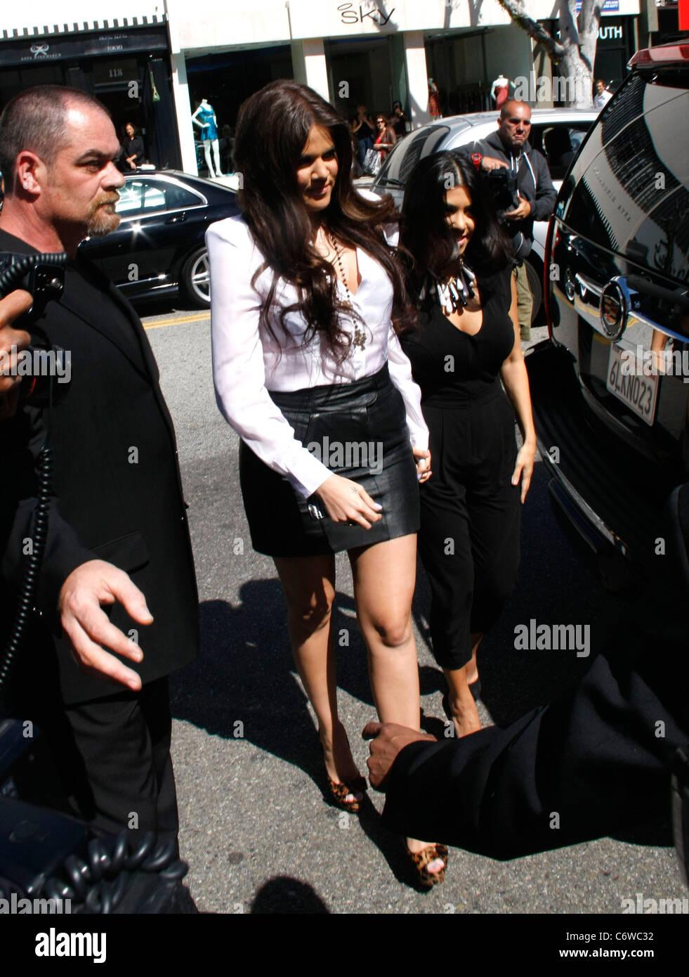 Khloe Kardashian The Kardashians Make A Meet And Greet Appearance At