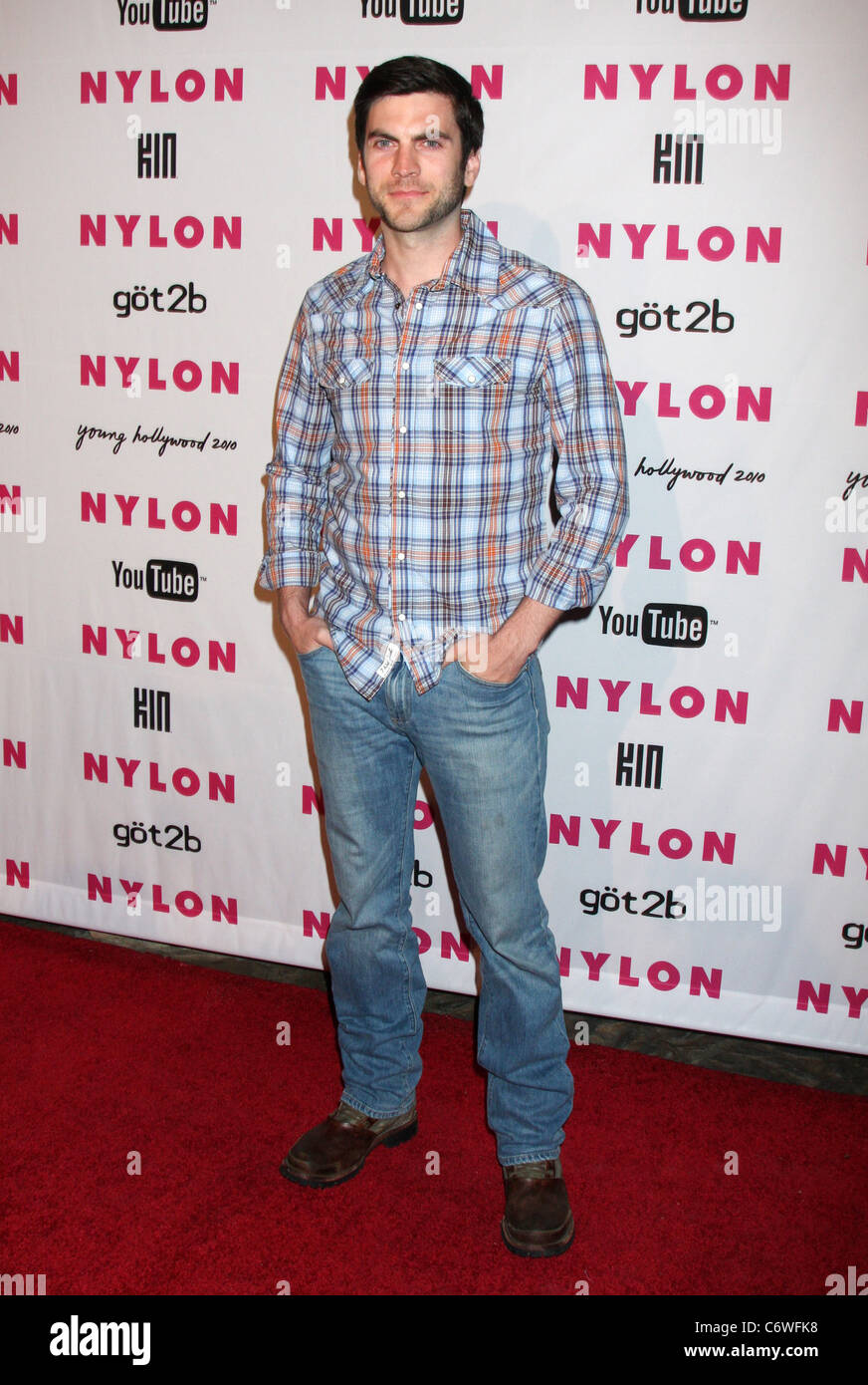 Wes Bentley The Nylon Magazine Young Hollywood Party 2010 Held At The Stock Photo Alamy
