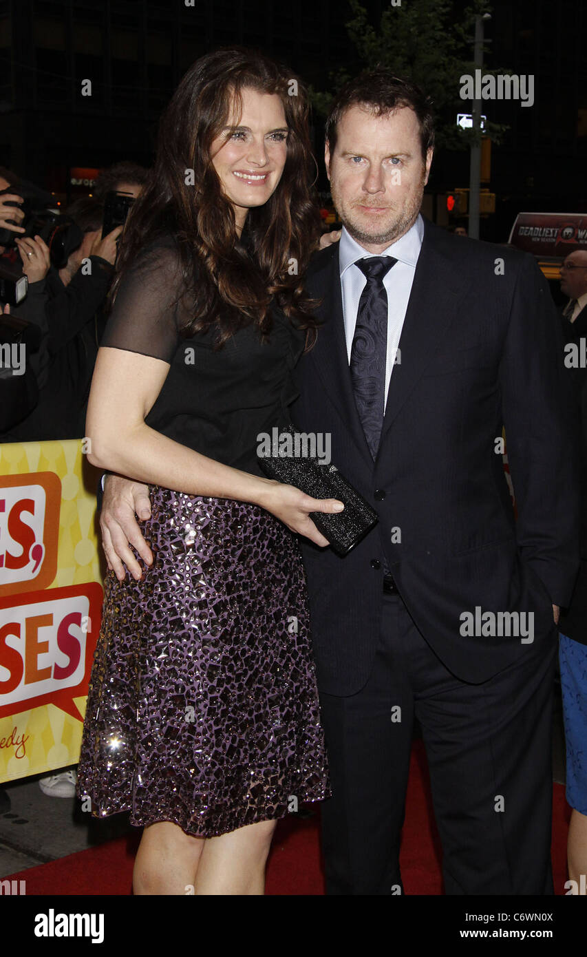 0dfe81aeb64a Brooke Shields and her husband Chris Henchy Opening night of the musical   Promises