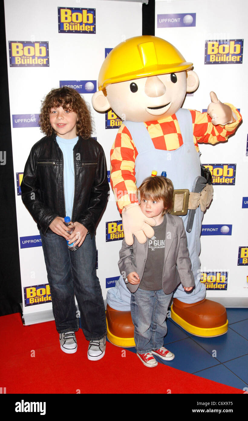 Guests The premiere of 'Bob the Builder: The Legend of the Golden