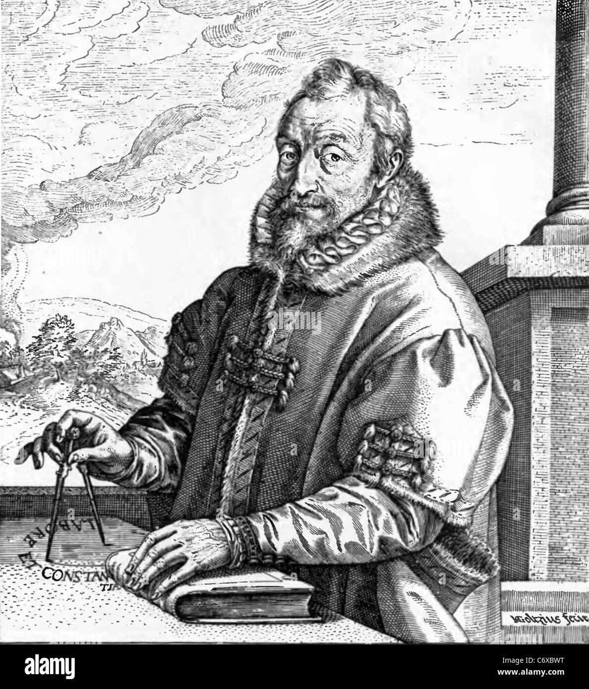 HENDRICK GOLTZIUS (1558-1617) Dutch printmaker and engraver - Stock Image