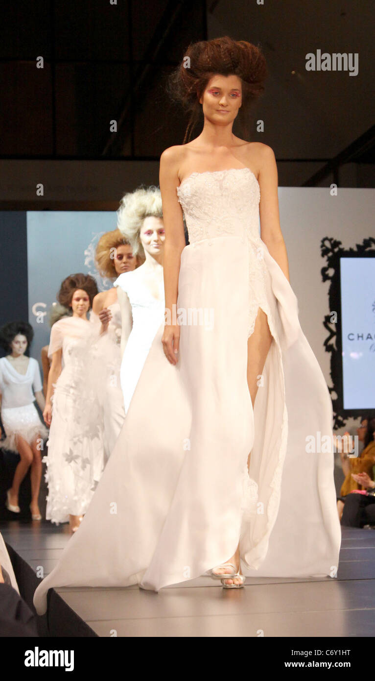 Models Fashion Designer Gilbert Chagoury Hosts His First Ever Runway Stock Photo 38702660 Alamy
