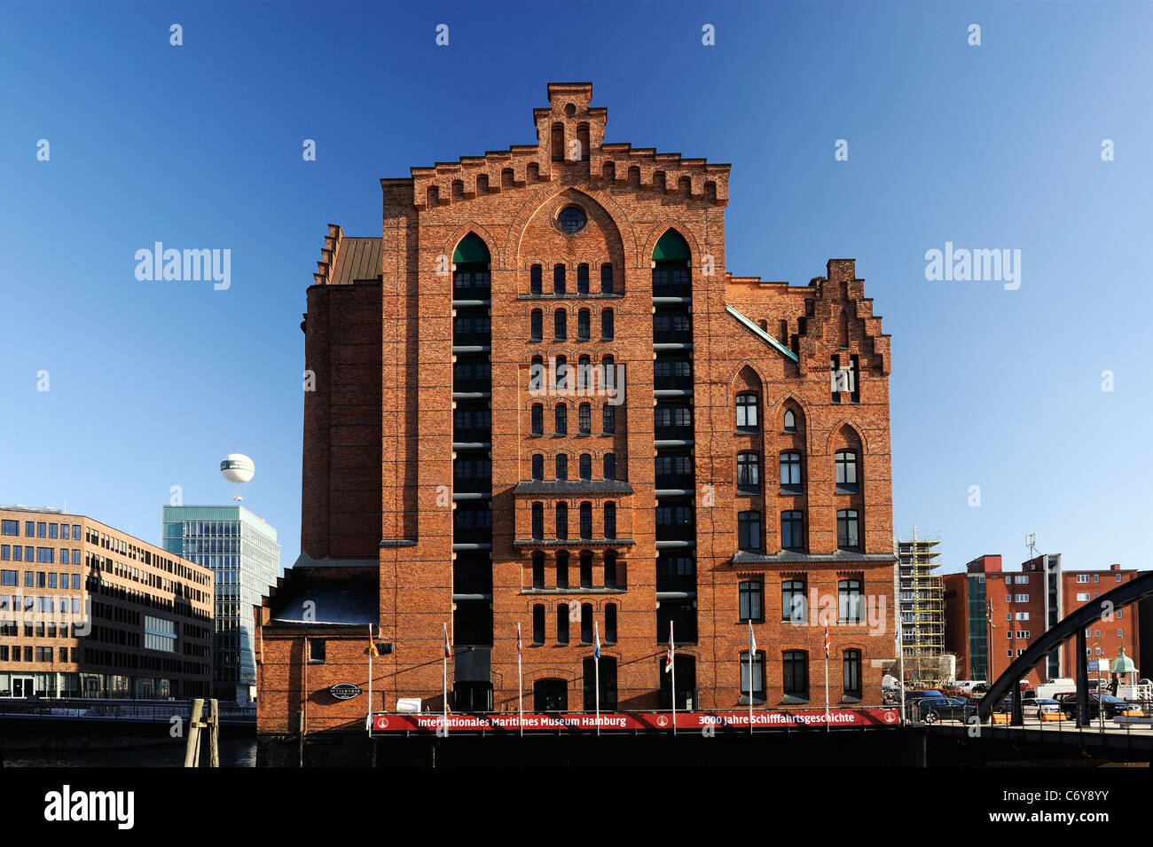 Hafen City museum - Stock Image