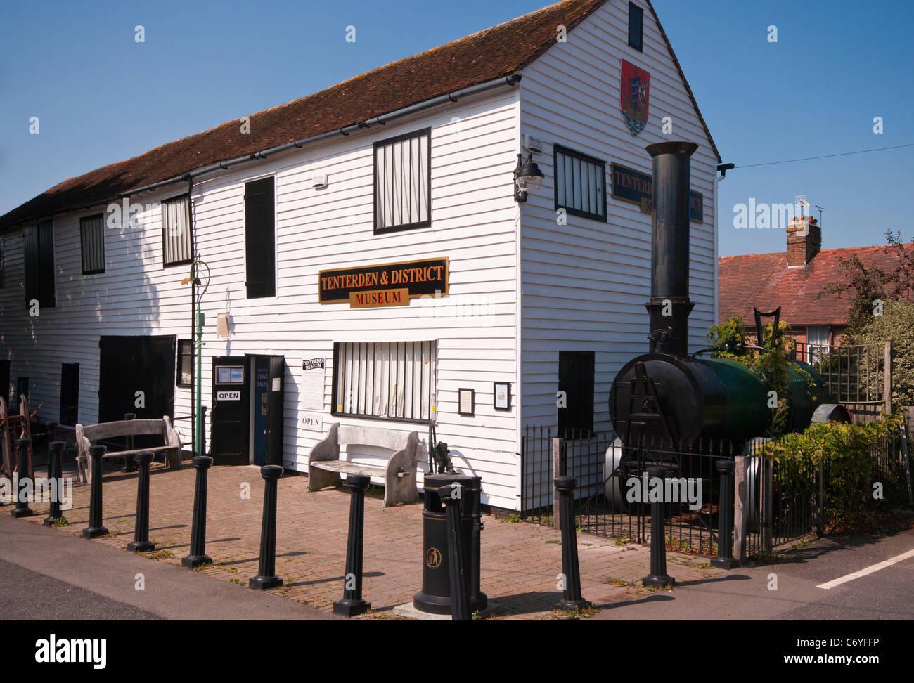 Tenterden and District Museum Kent England - Stock Image