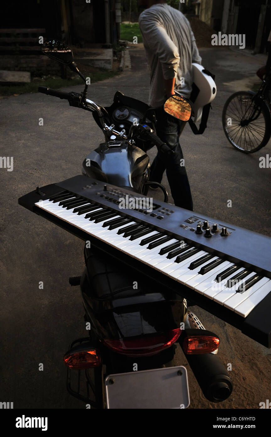 A synthesizer - Stock Image