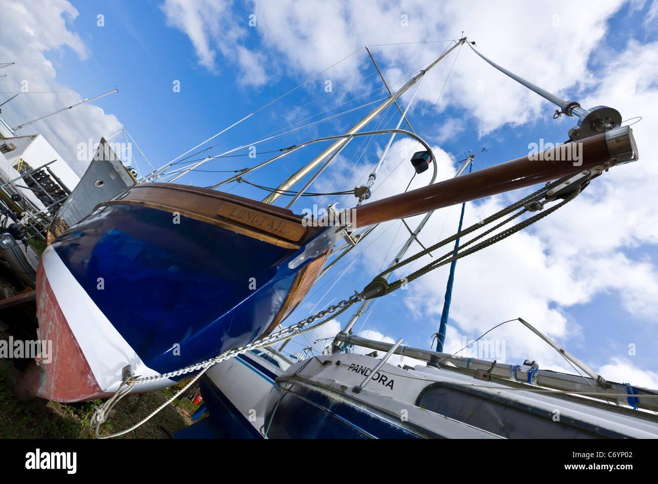 The Boatyard - Stock Image
