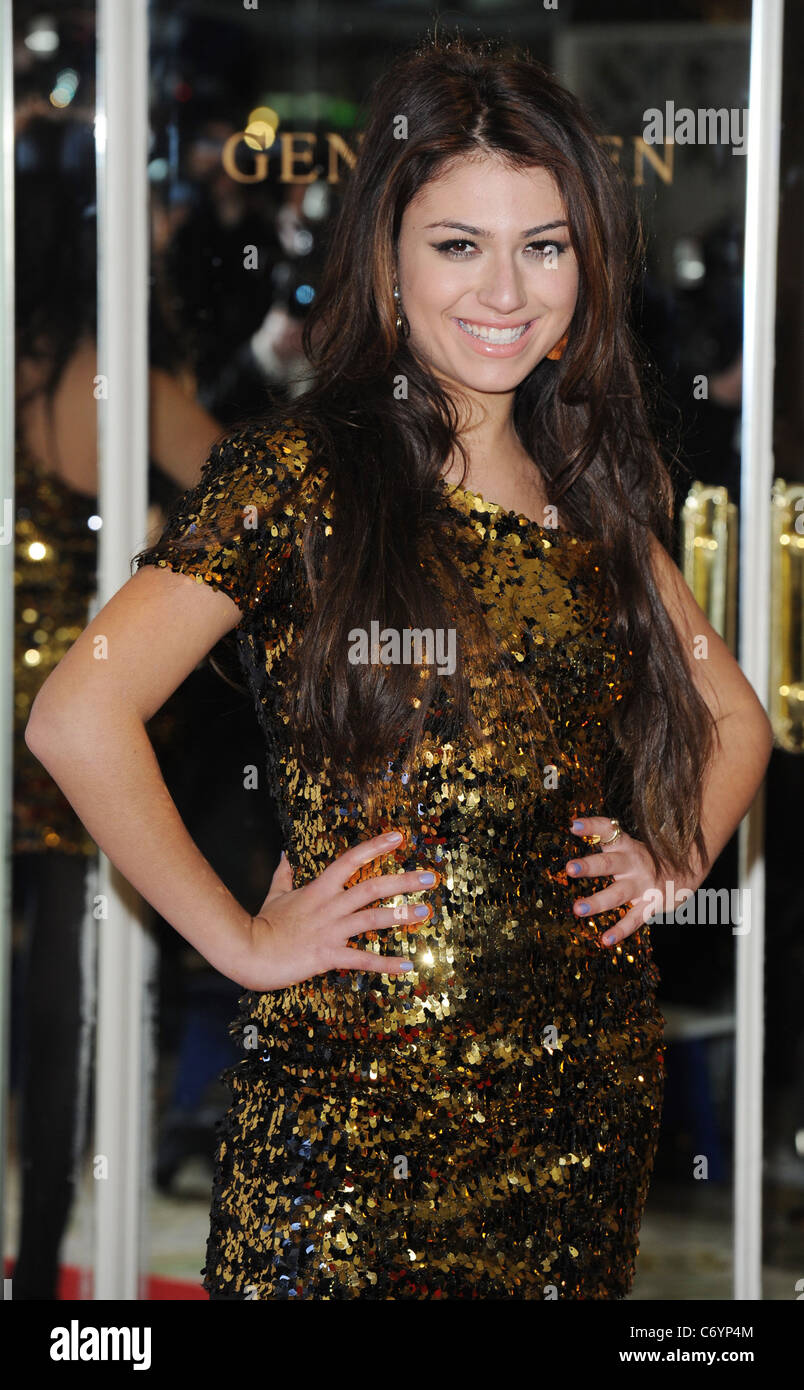 Gabriella Cilmi The Noble Gift Gala held at The Dorchester - Arrivals London, England - 13.03.10 - Stock Image