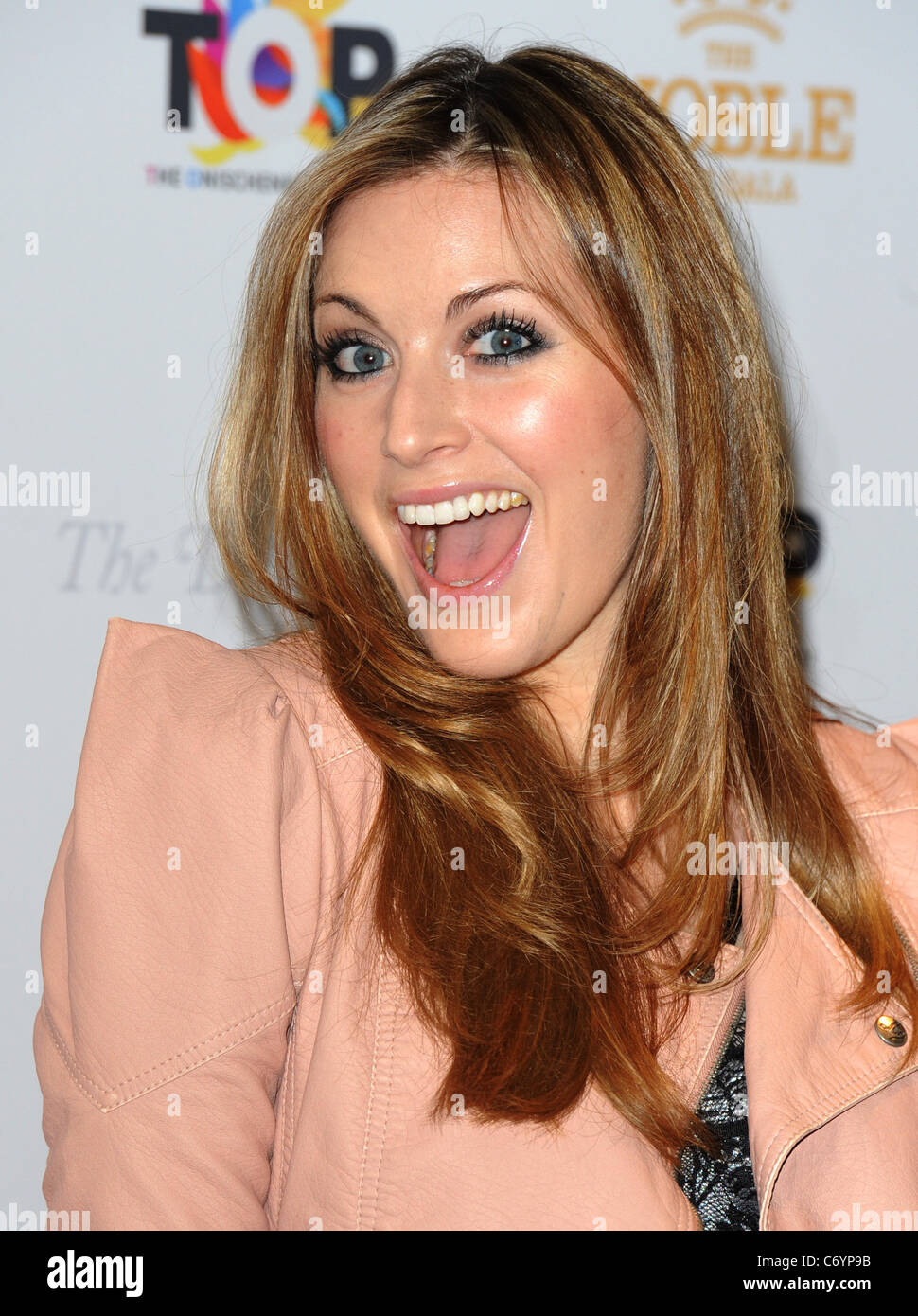 Olivia Lee The Noble Gift Gala held at The Dorchester - Arrivals London, England - 13.03.10 - Stock Image
