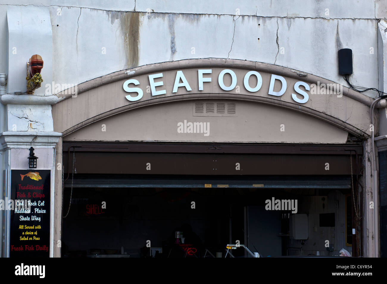 Seafood Outlet High Resolution Stock ...
