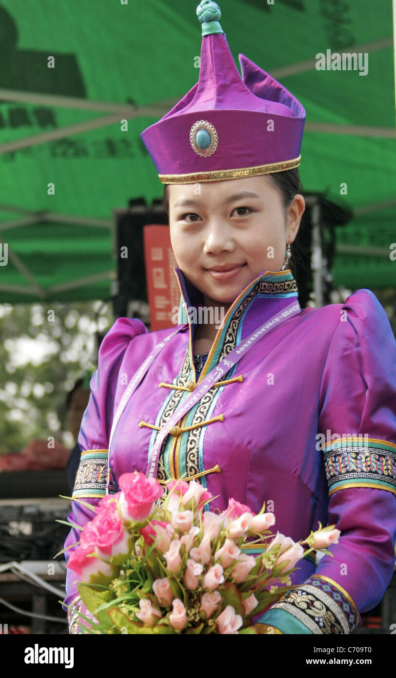 saren grile of the mongolian ethnic minority from inner mongolia