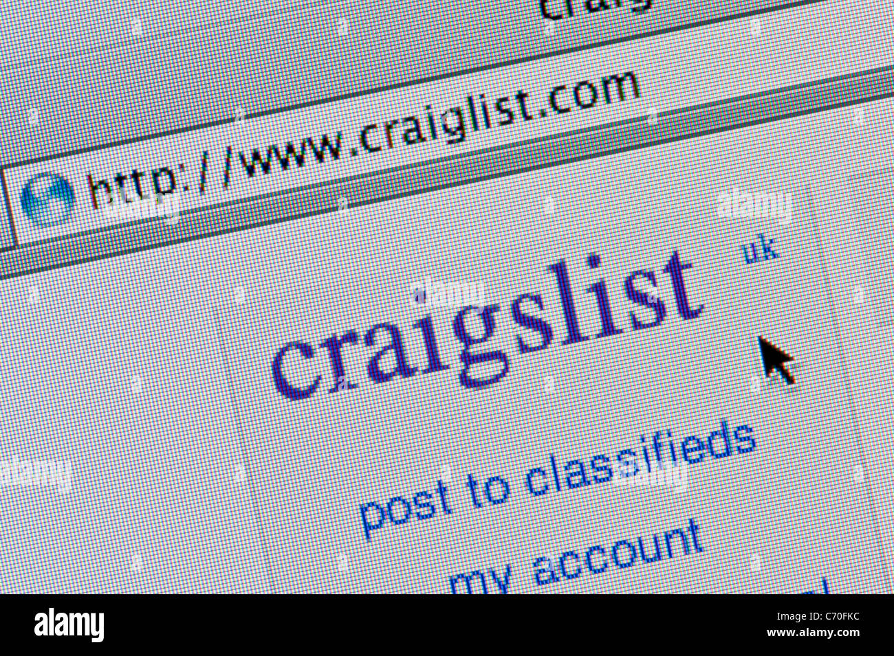 Craigslist Computer Stock Photos & Craigslist Computer Stock Images