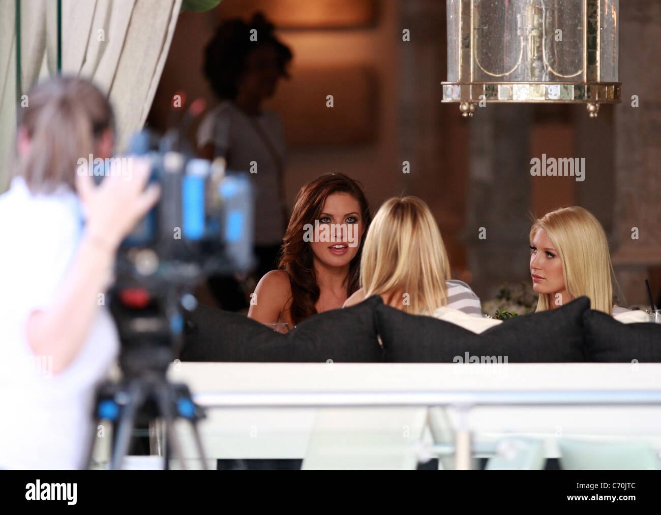 Audrina Patridge, Heidi Montag, and Kristen Cavalleri MTV