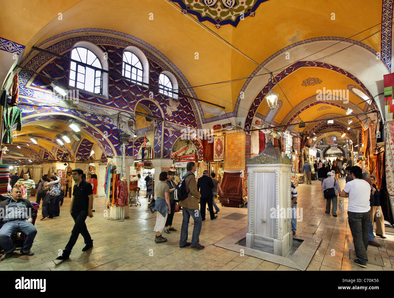 Kapali Carsi means Covered Market the Grand Bazaar of Istanbul