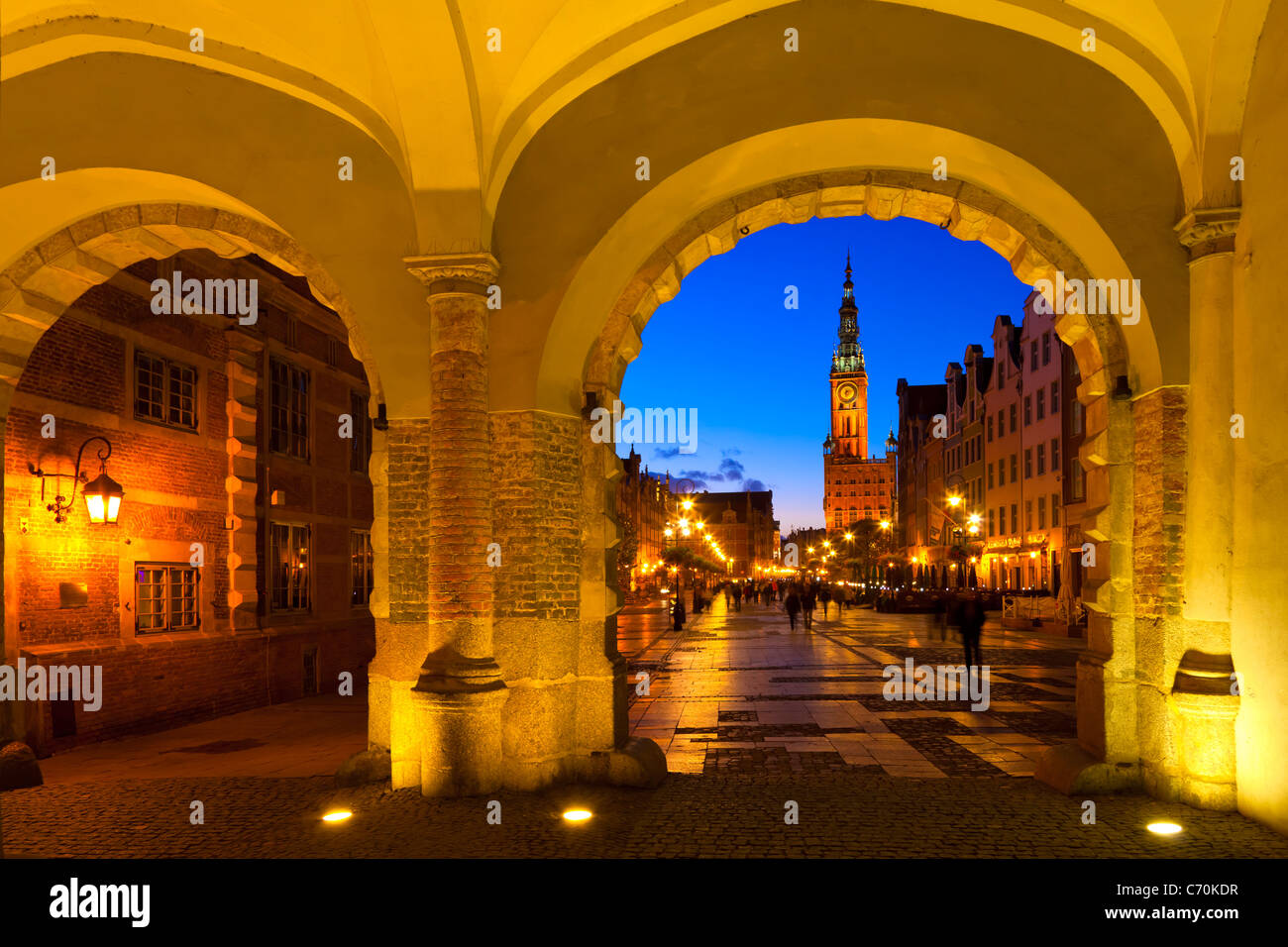 Gdansk (Danzig) Stock Photo
