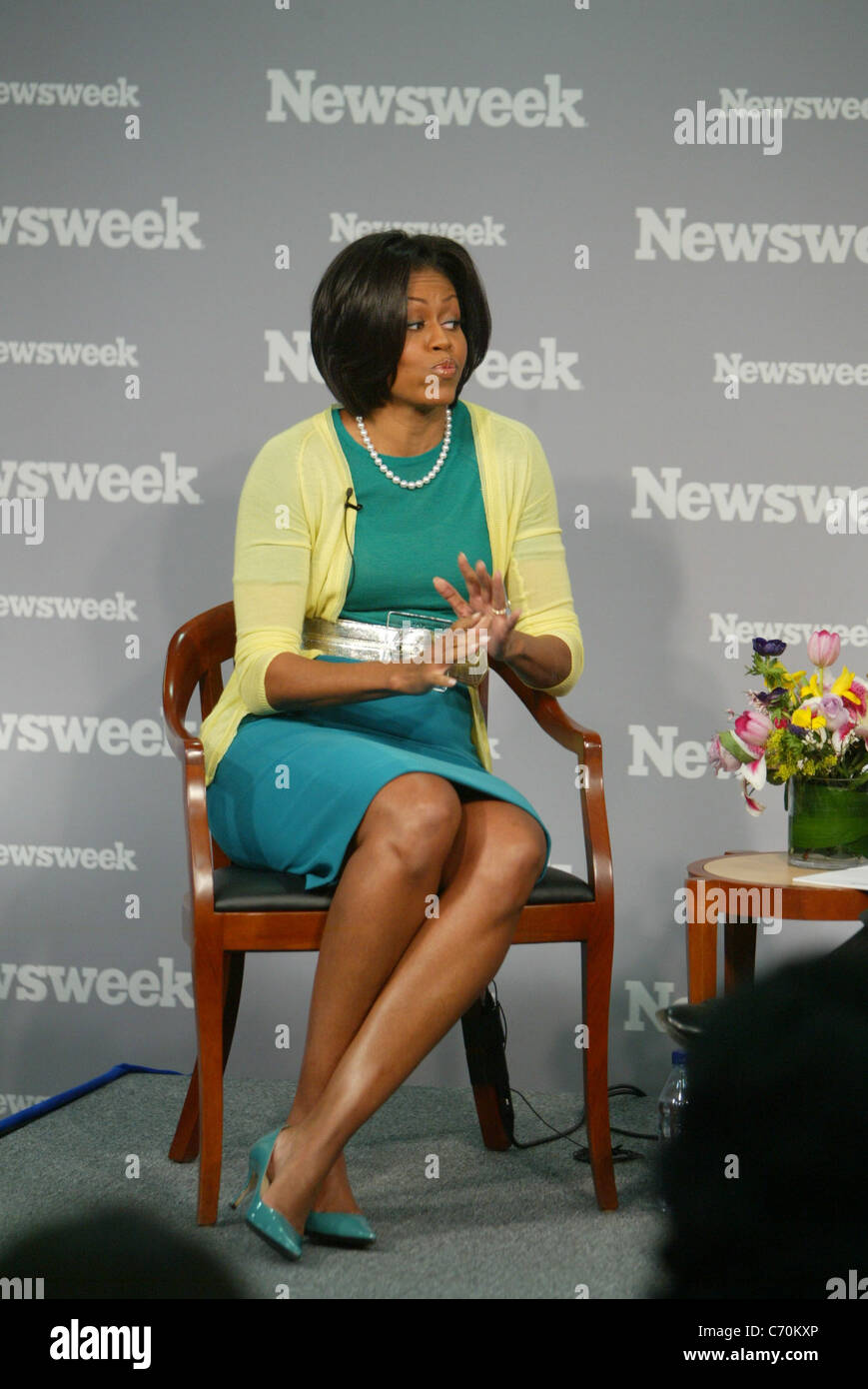 First Lady Michelle Obama Newsweek magazine's executive