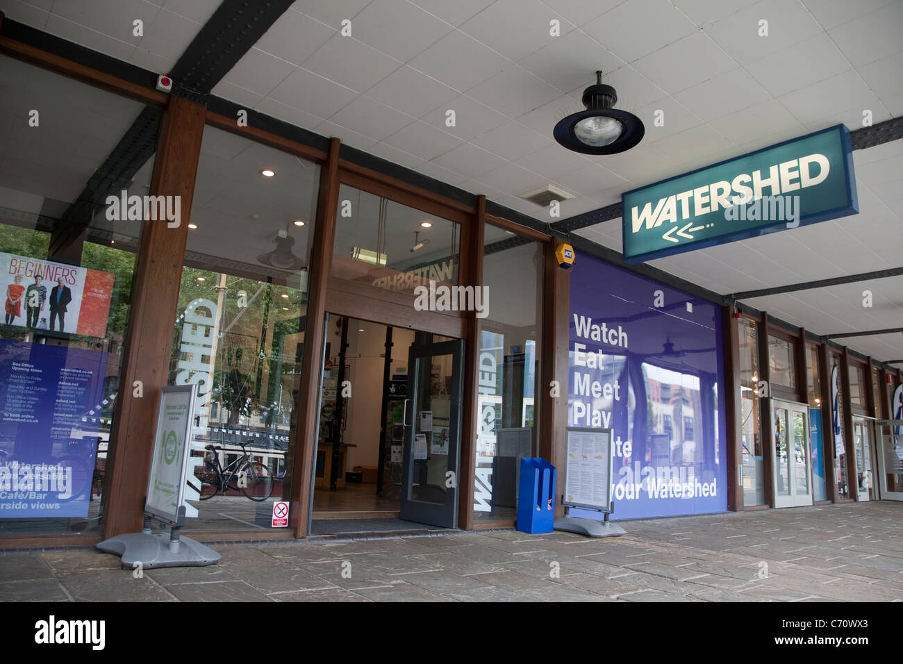 Watershed Cinema, Bristol, England, UK - Stock Image