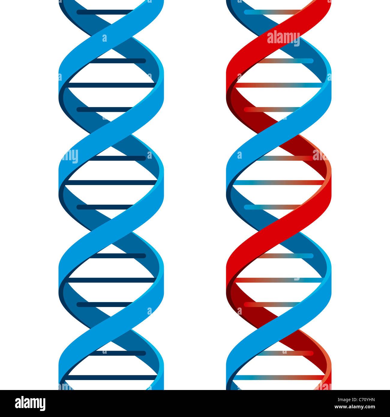 DNA Symbol - Stock Image