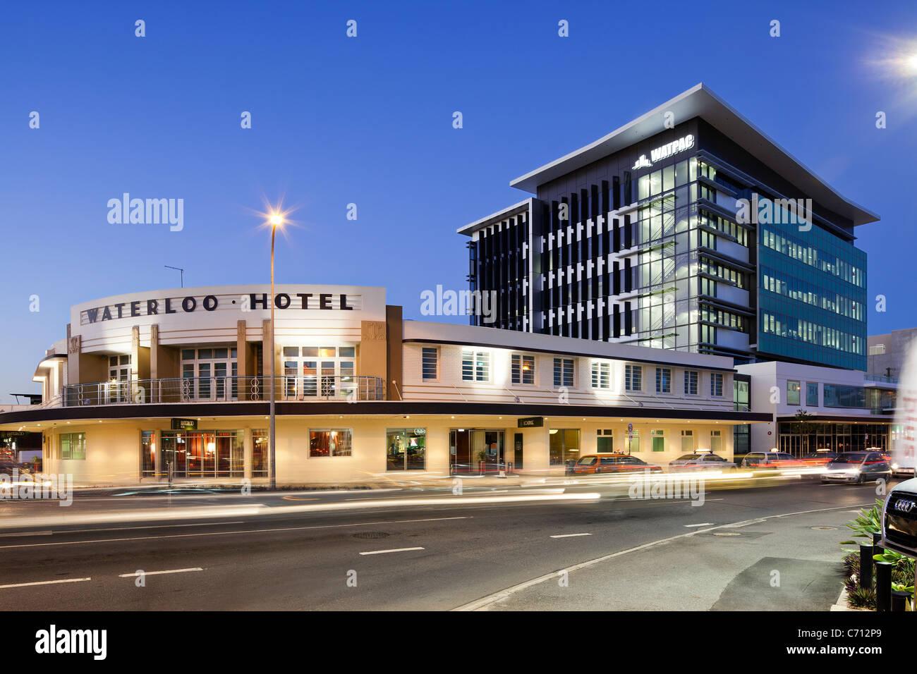 Waterloo Hotel, Brisbane - Stock Image