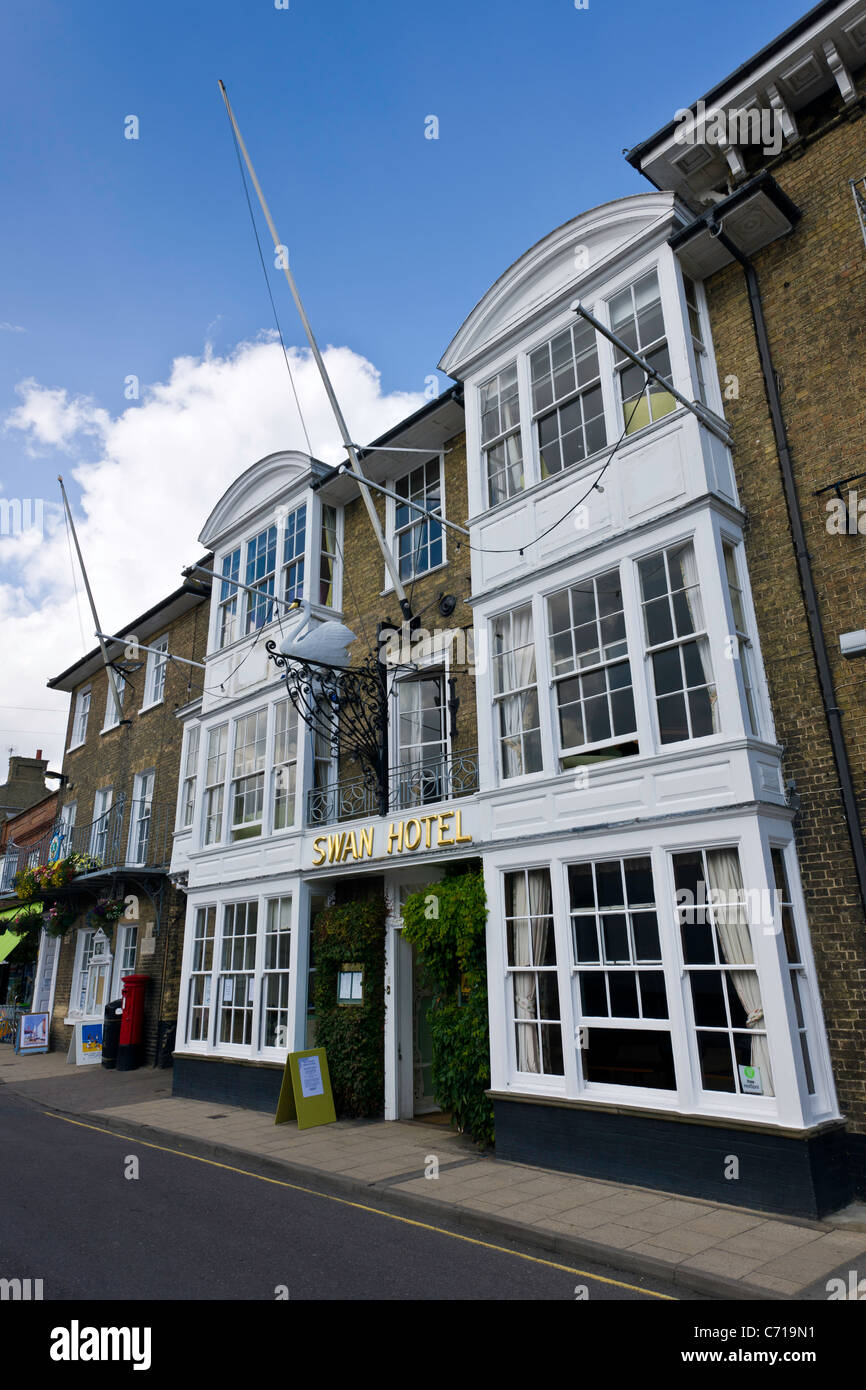 The Swan Hotel - Southwold - Stock Image
