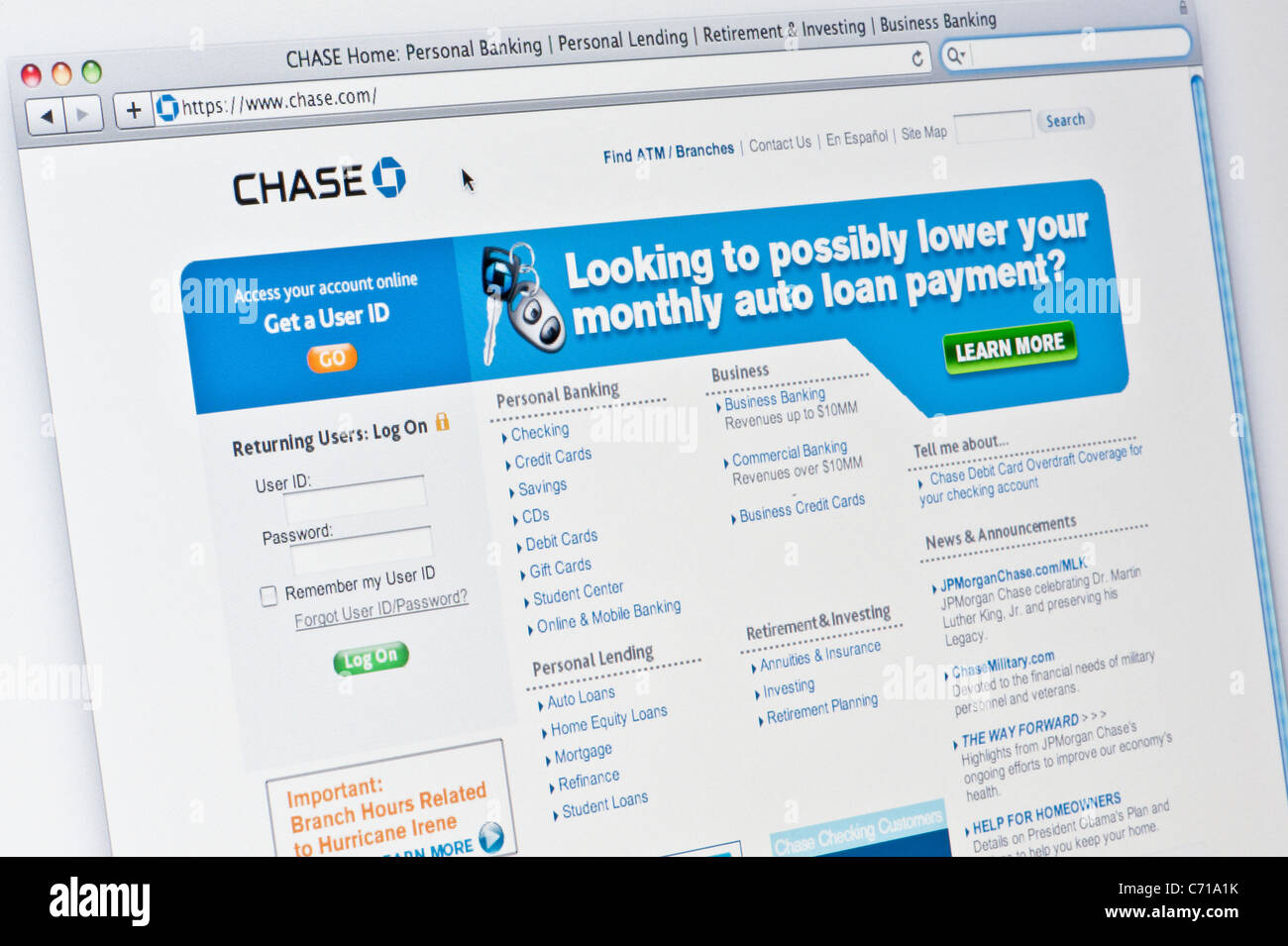Chase Bank Stock Photos & Chase Bank Stock Images - Alamy